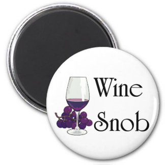 Wine Snob T-shirts and Gifts. Magnet