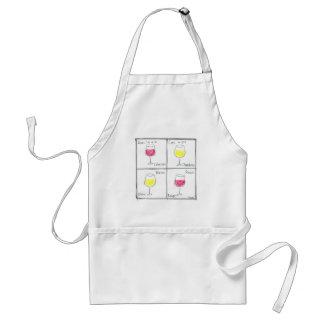 wine standard apron