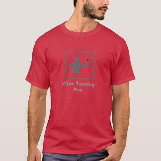 Wine Taster Pro (Grey Logo) T-Shirt