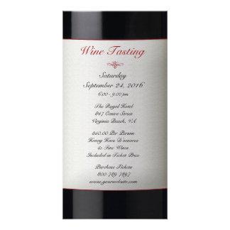 Wine Tasting Event Invitation Personalized Photo Card