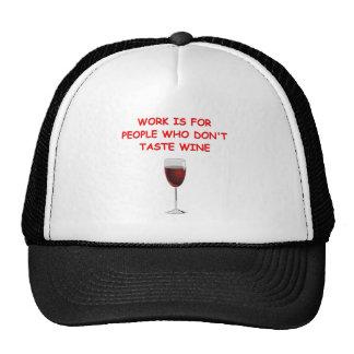 wine tasting hat