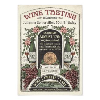 Wine Tasting Invitations v.2