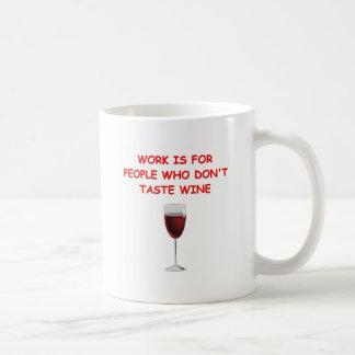 wine tasting coffee mugs