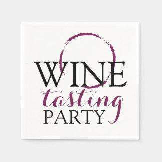 Wine Tasting Party | Cocktails Paper Napkins