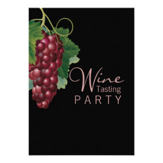 Wine Tasting Party Custom Invitation Personalized Invitations