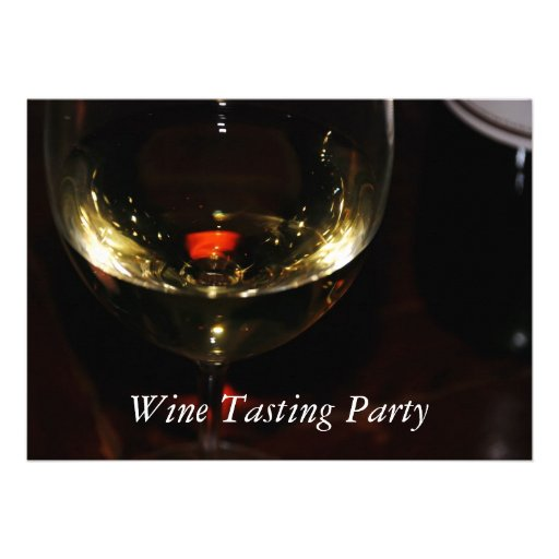Wine Tasting Party Announcements