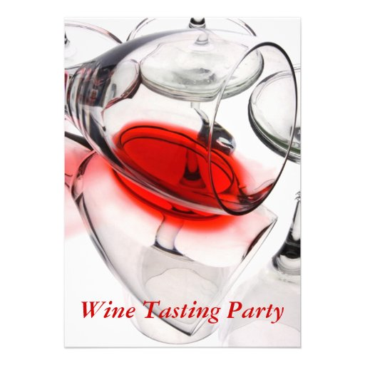 Wine Tasting Party Invites