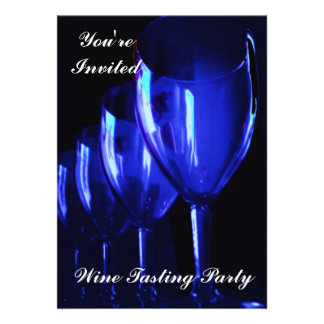 Wine Tasting Party Announcement