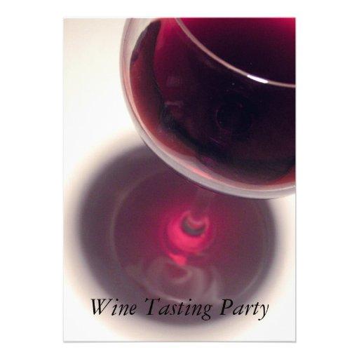Wine Tasting Party Custom Invites