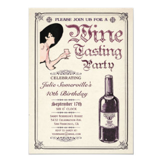 Wine Tasting Party Invitations (v.1)