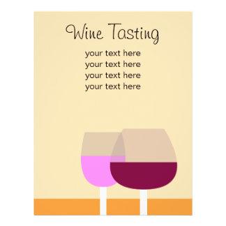 Wine Tasting/Wine Business 21.5 Cm X 28 Cm Flyer