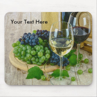 Wine Themed Mousepad Gifts