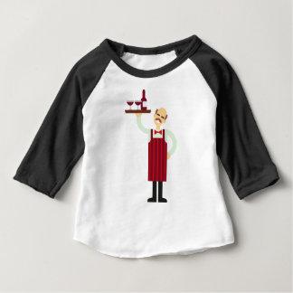 Wine Waiter Baby T-Shirt