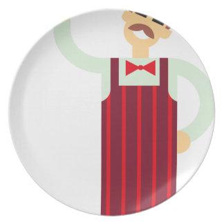 Wine Waiter Plate