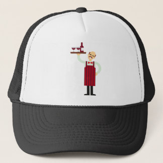 Wine Waiter Trucker Hat