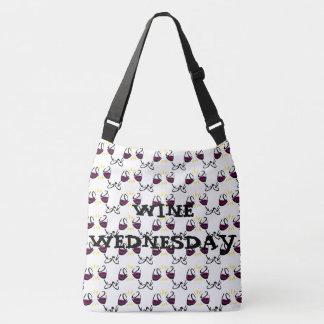 Wine Wednesday Shoulder or Tote Bag