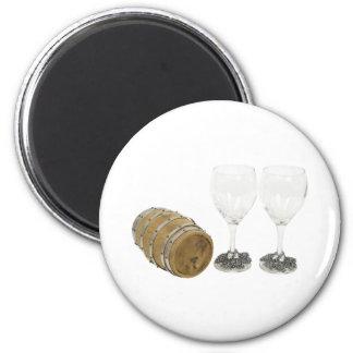WineBarrelGlasses110709 copy Magnets