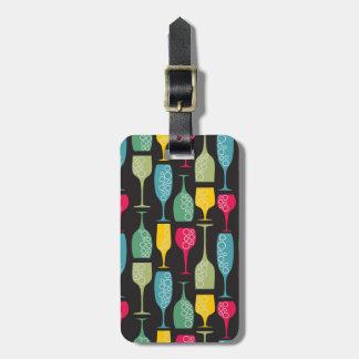 Wineglass Bag Tag