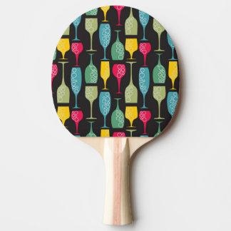 Wineglass Ping Pong Paddle