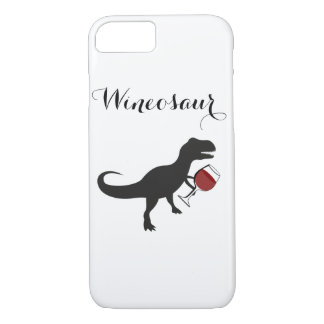 Wineosaur iPhone Case