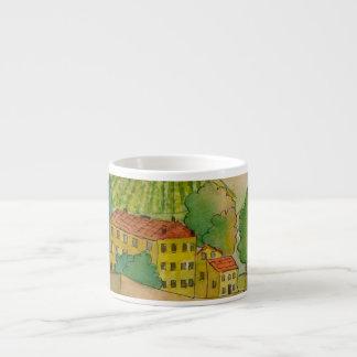 Winery in Chianti Espresso Cup