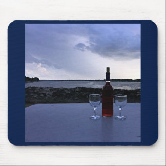 """WINERY ON THE LAKE"" MOUSEPAD"