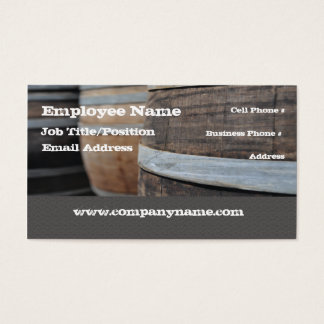 Winery Wine Bar Business Card Template