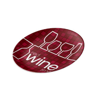 WineTime Porcelain Plates