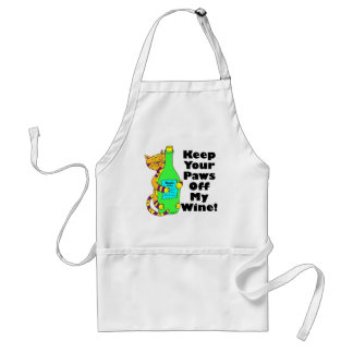 Wineycat, Keep Your Paws Off My Wine Apron