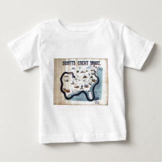 Winfield Scott's Great Snake Anaconda Plan Baby T-Shirt