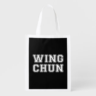Wing Chun Reusable Grocery Bag