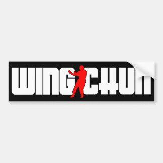 Wing Chun System Bumper Sticker