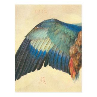 Wing of a Blue Roller by Albrecht Durer Postcard