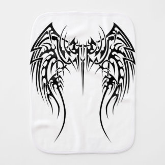 Wing wind burp cloth