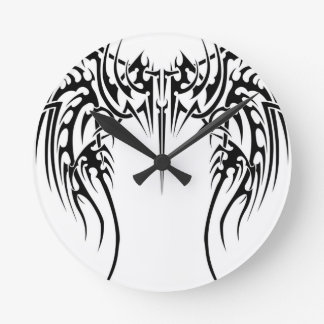 Wing wind round clock