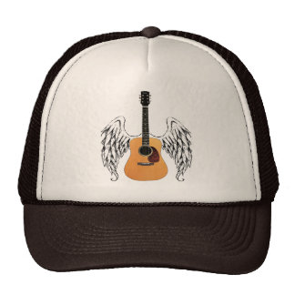 Winged Acoustic Guitar Cap