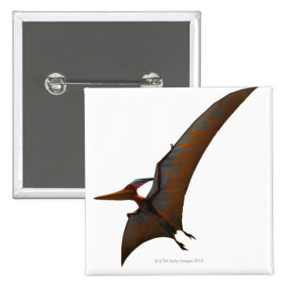Winged and Toothless Pinback Button