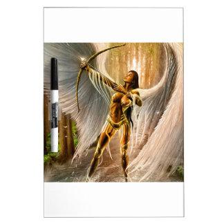 Winged Archer Dry-Erase Whiteboard