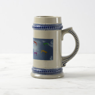 Winged Benches Beer Stein