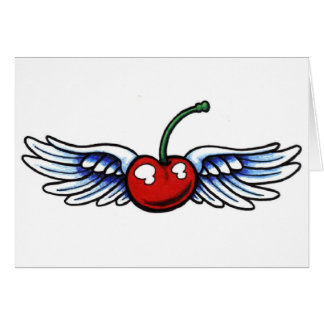 Winged Cherry cards