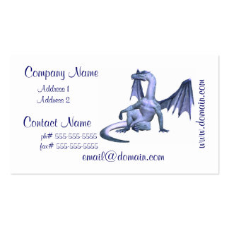 Winged Dragon Business Cards