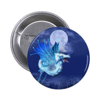 Winged Dragon in Flight Button