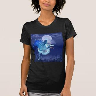 Winged Dragon in Flight Ladies T-Shirt