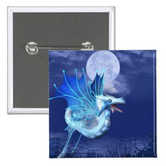 Winged Dragon in Flight Pin