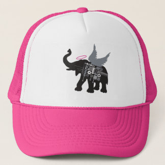 Winged Elephant Trucker Hat