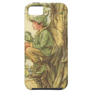 Winged Elm Fairy Sitting in a Tree Tough iPhone 5 Case