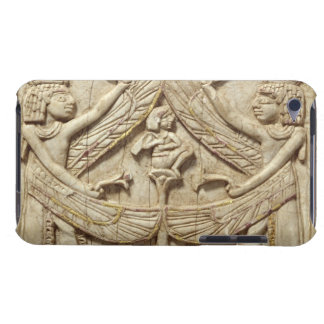 Winged genii, Assyrian Period, c.750 BC (ivory) iPod Touch Cases