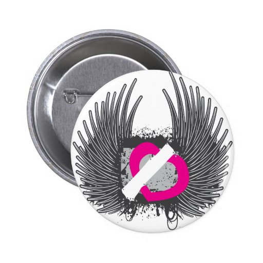 Winged Heart Button