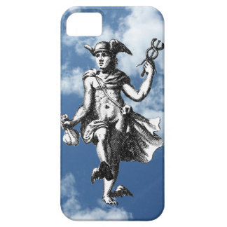 Winged Mercury in the Clouds Case For The iPhone 5