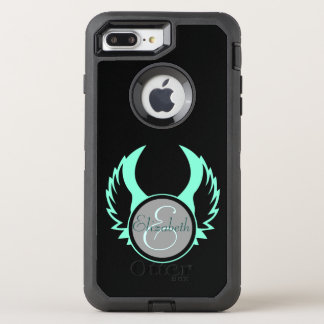 Winged Monogram OtterBox Defender iPhone 7 Plus Case